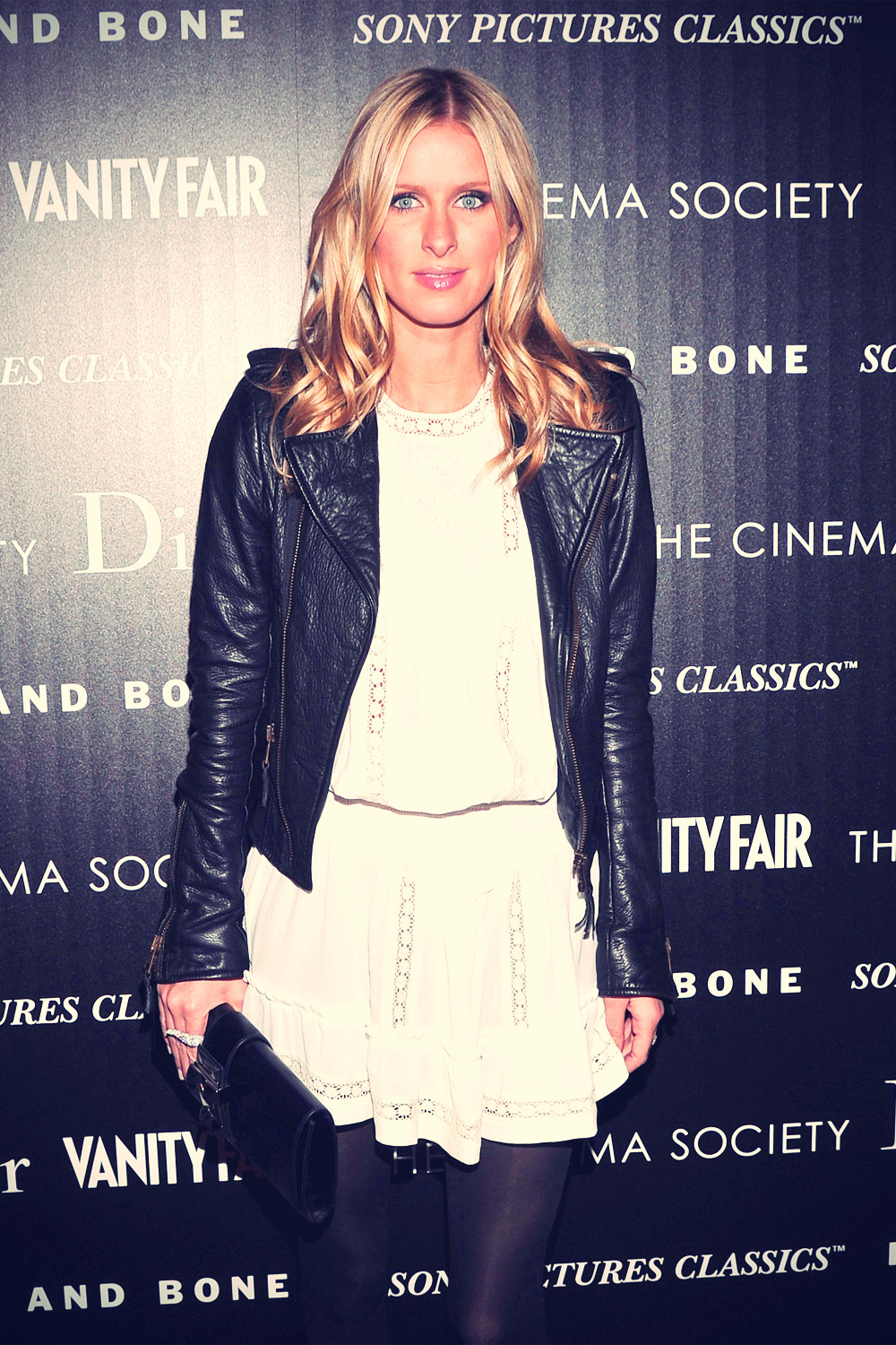 Nicky Hilton at The Cinema Society with Dior & Vanity Fair Screening