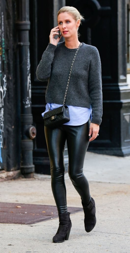 Nicky Hilton was seen in New York City