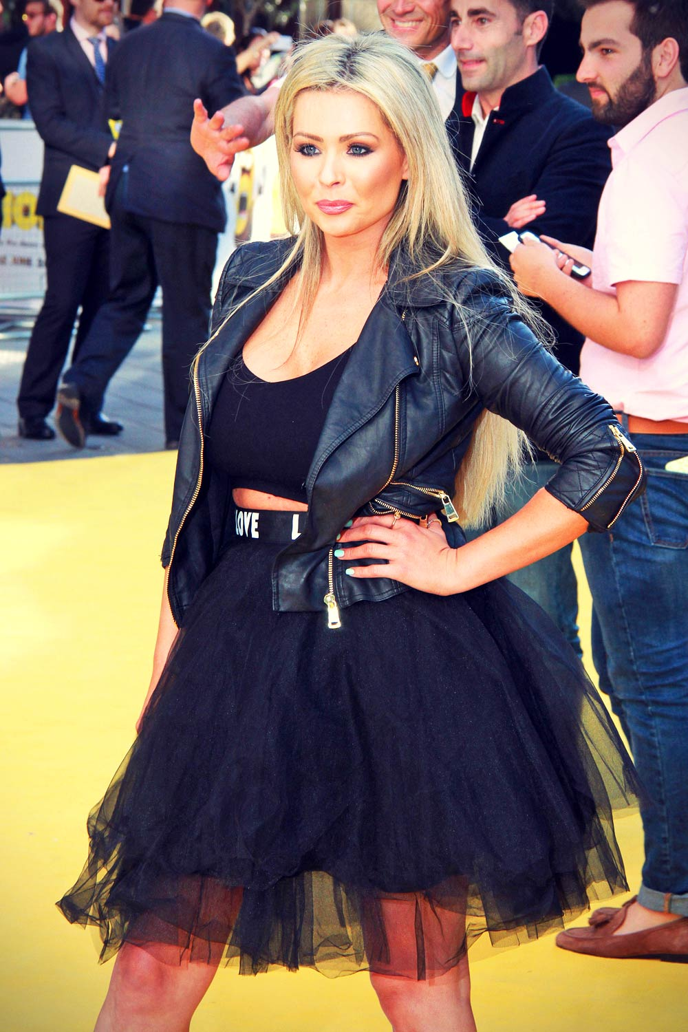 Nicola McLean attends Minions premiere in London