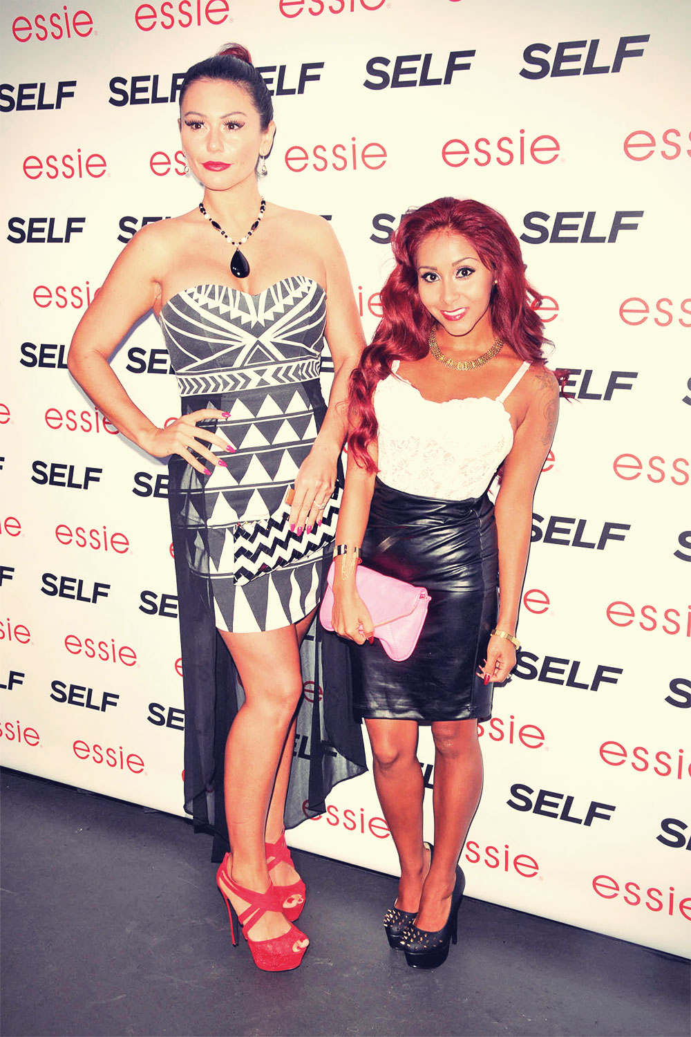 Nicole Polizzi attends Self Magazine's Rock The Summer Party held at Kiss & Fly