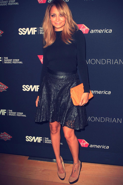 Nicole Richie at 5th Annual Sunset Strip Music Festival
