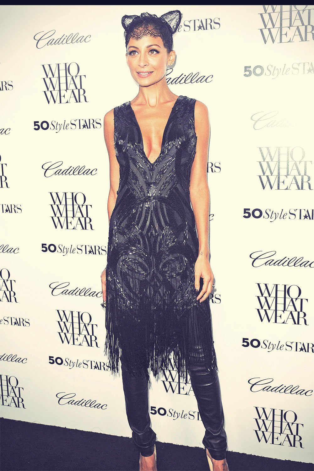 Nicole Richie attends 50 Most Fashionable Women Of 2013 Event