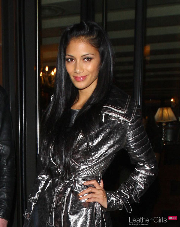 Nicole Scherzinger at C restaurant in Mayfair London