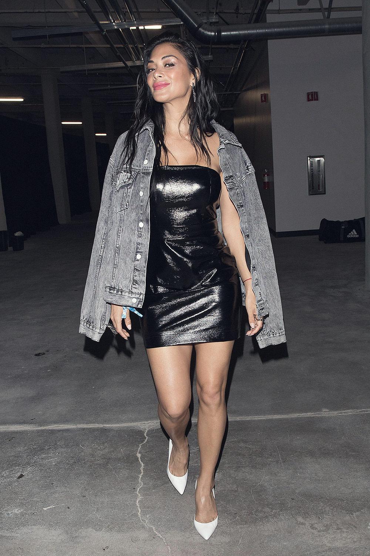 Nicole Scherzinger arriving at Adidas All Star Weekend event