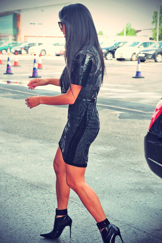 Nicole Scherzinger arriving at X Factor Auditions