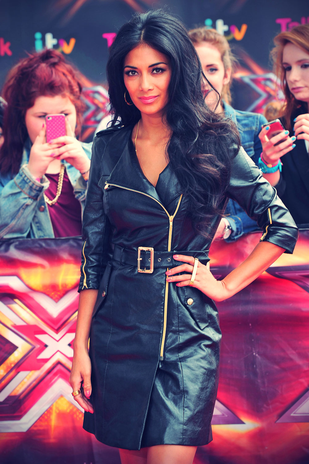 Nicole Scherzinger at Red Carpet arrivals for The X Factor