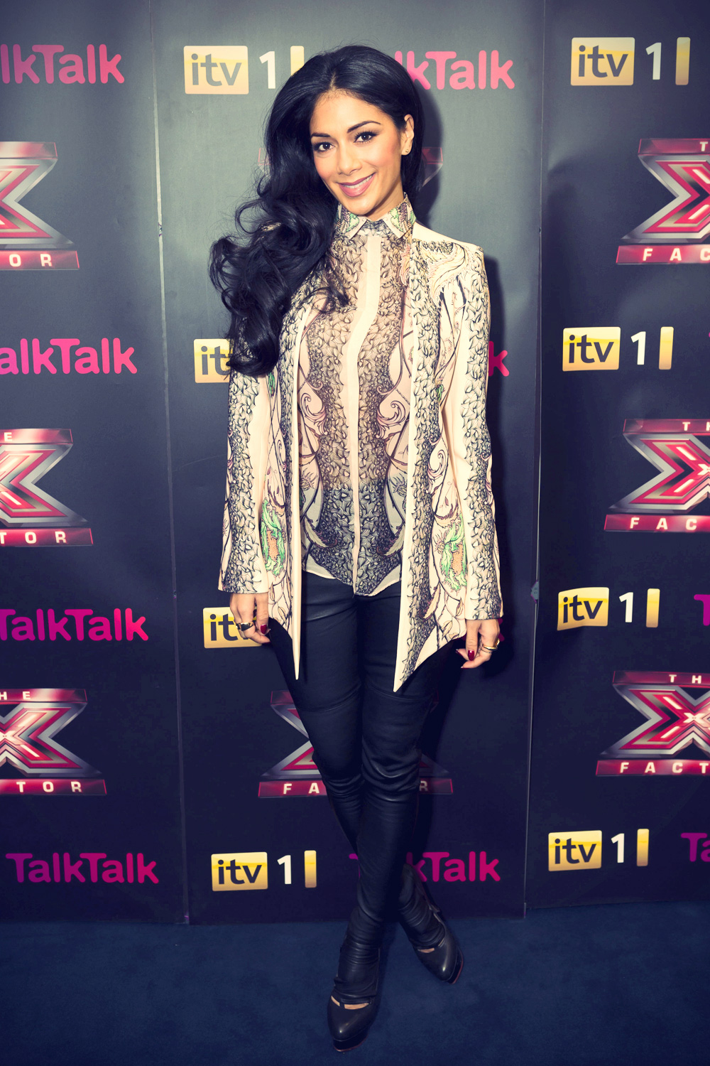 Nicole Scherzinger at The X Factor Finalists and Judges Press Conference