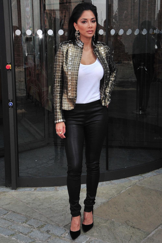 Nicole Scherzinger attends X Factor Auditions