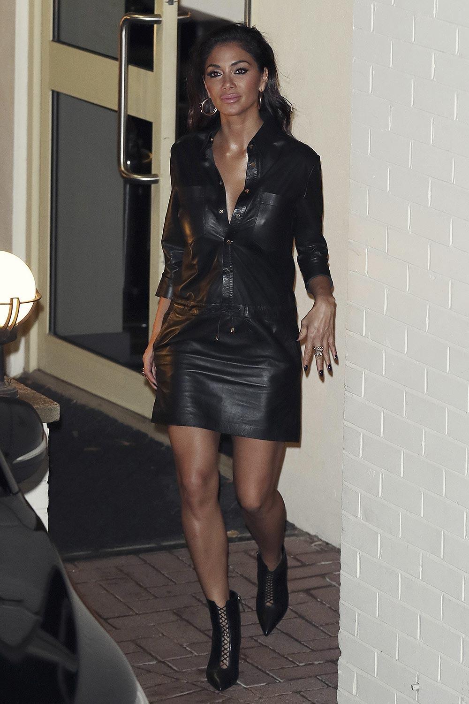 Nicole Scherzinger leaving Fountain Studios