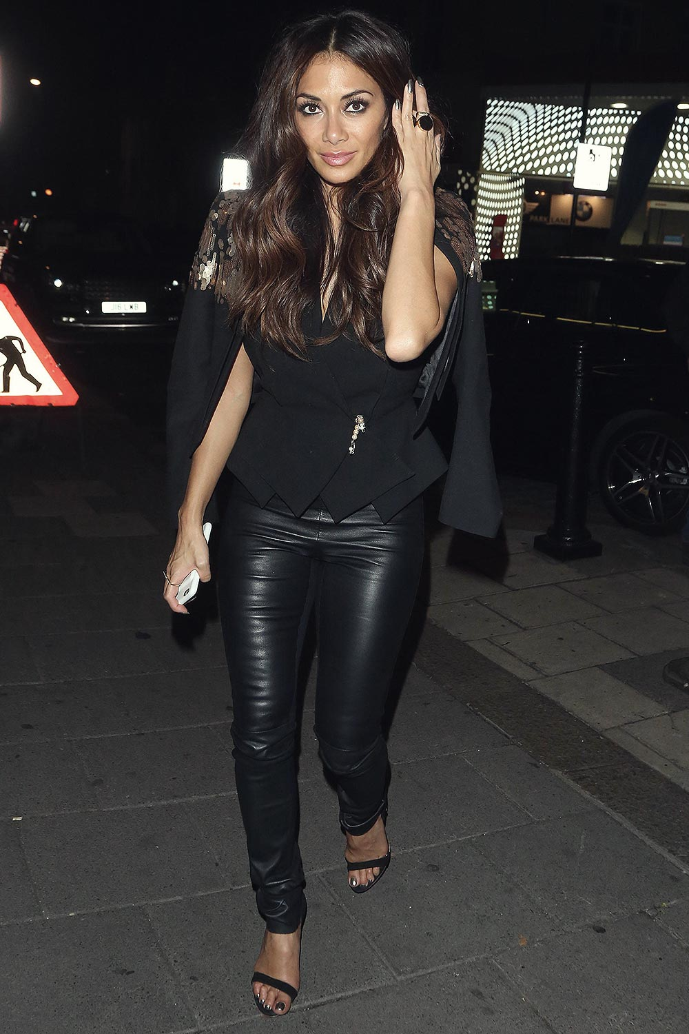 Nicole Scherzinger leaving the Wembley Arena