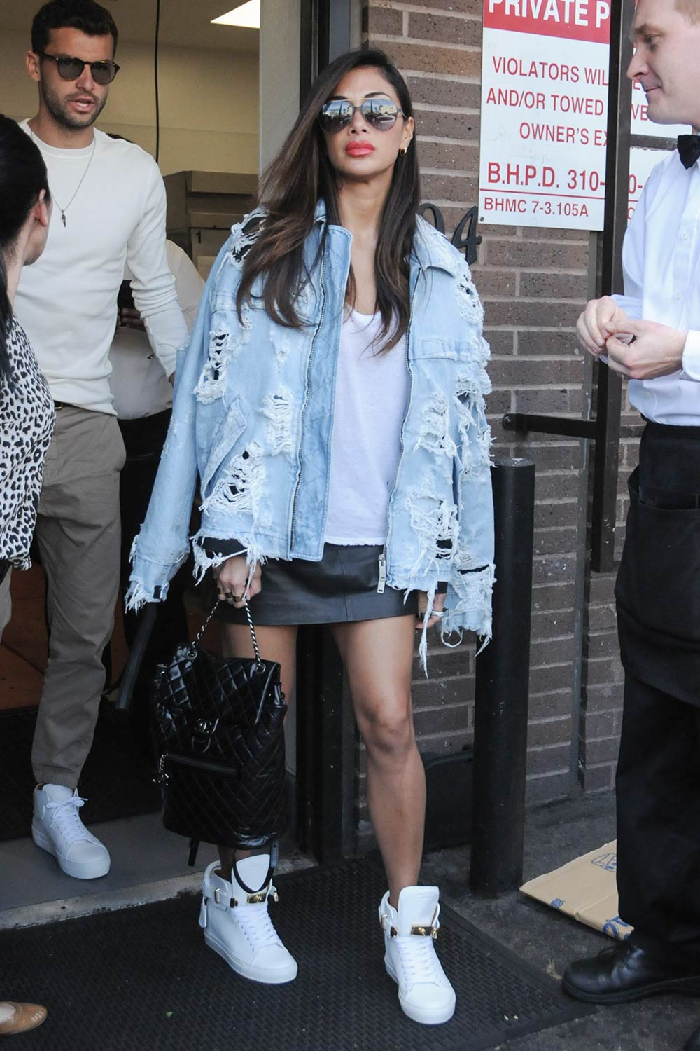 Nicole Scherzinger seen in LA