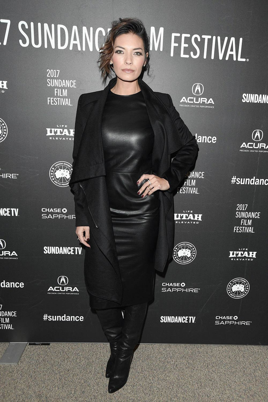 Nicole Sheridan attends the Wind River premiere