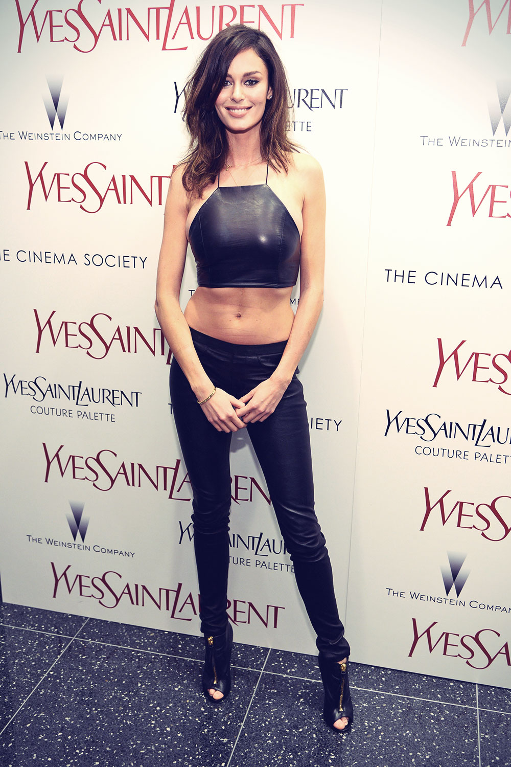 Nicole Trunfio attends The Weinstein Company's Yves Saint Laurent premiere