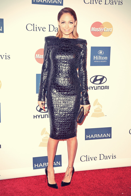 Nicole Richie Clive Davis & Recording Academy's 2013 Pre-Grammy Gala
