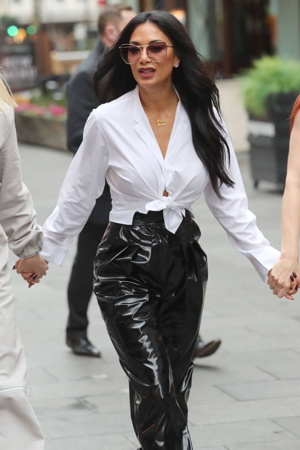 Nicole Scherzinger at Global Radio Studios