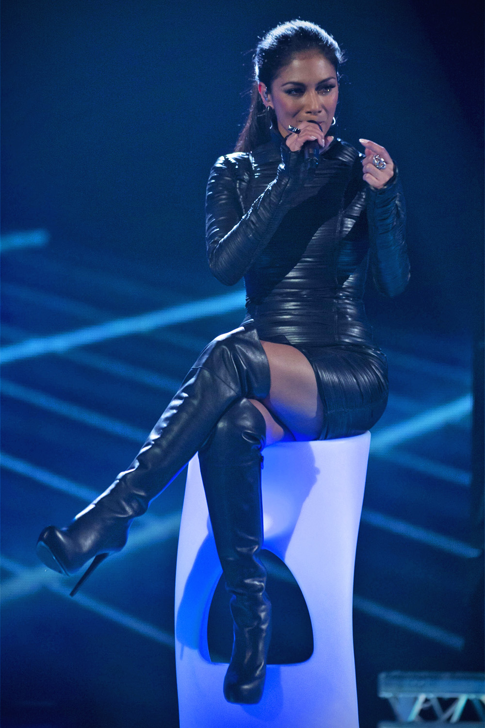 Nicole Scherzinger at The X Factor Final