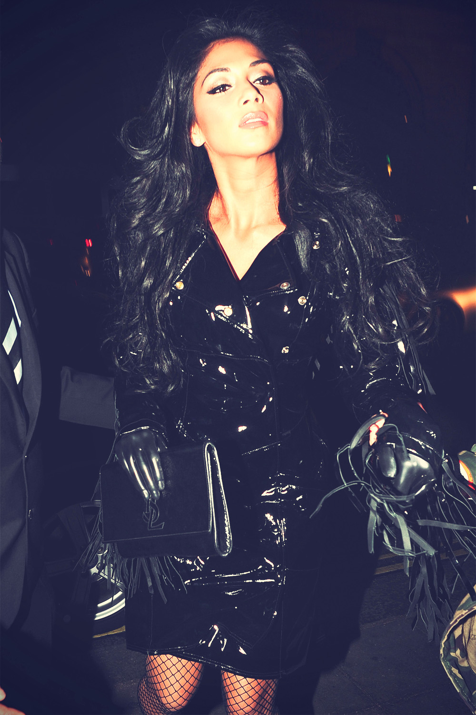 Nicole Scherzinger night out at Mahiki nightclub