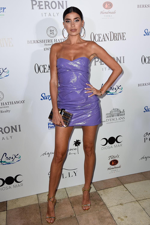 Nicole Williams attends Ocean Drive Magazine kicks off Miami Swim Week