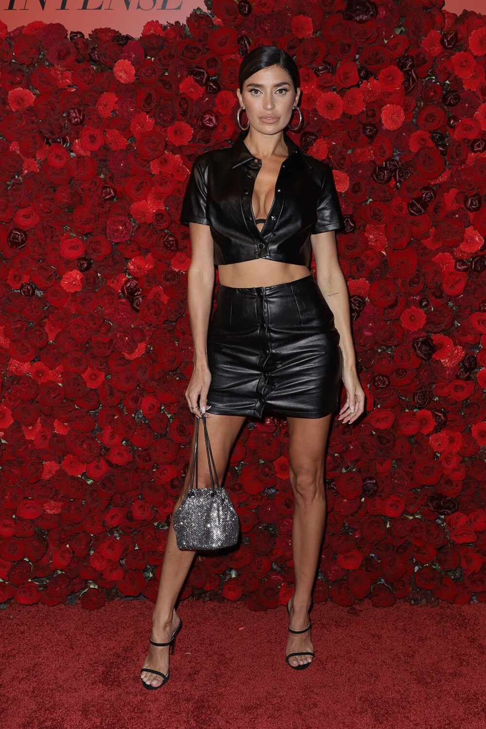 Nicole Williams attends The Bombshell Intense Launch Party