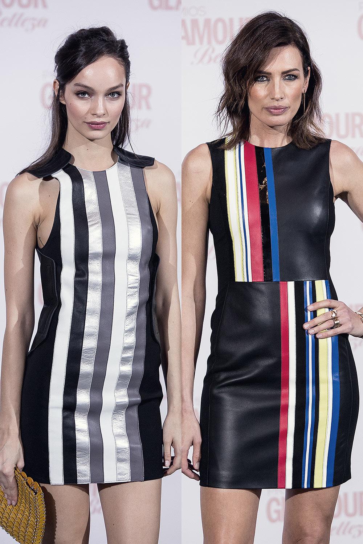 Nieves Alvarez & Luma Grothe attend the Glamour Beauty Awards
