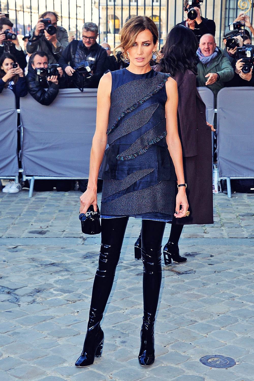 Nieves Alvarez attends Paris Fashion Week SS 2016