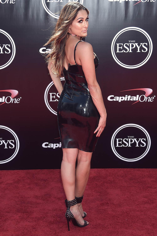 Nikki Bella Attends The 2016 Espys Leather Celebrities