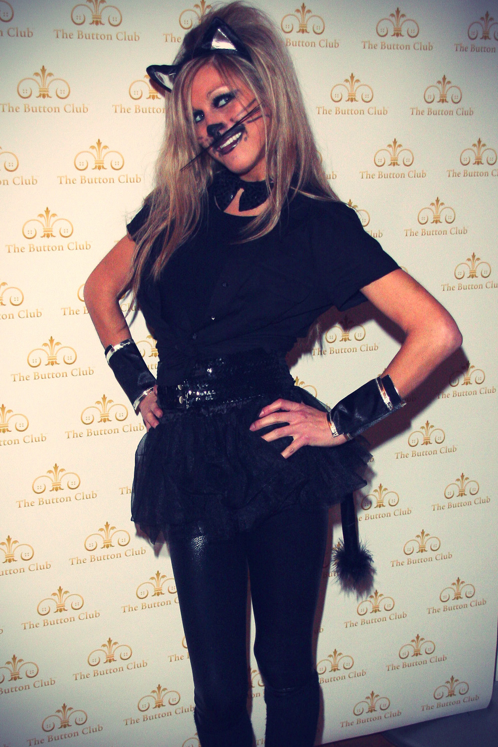 Nikki Grahame at Halloween the Bloodlust Ball