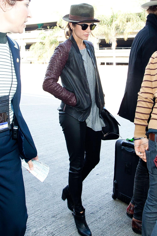 Nikki Reed at LAX Airport