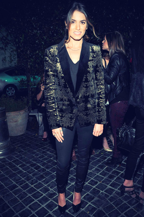 Nikki Reed attending the InStyle/7 For All Mankind Jeans party