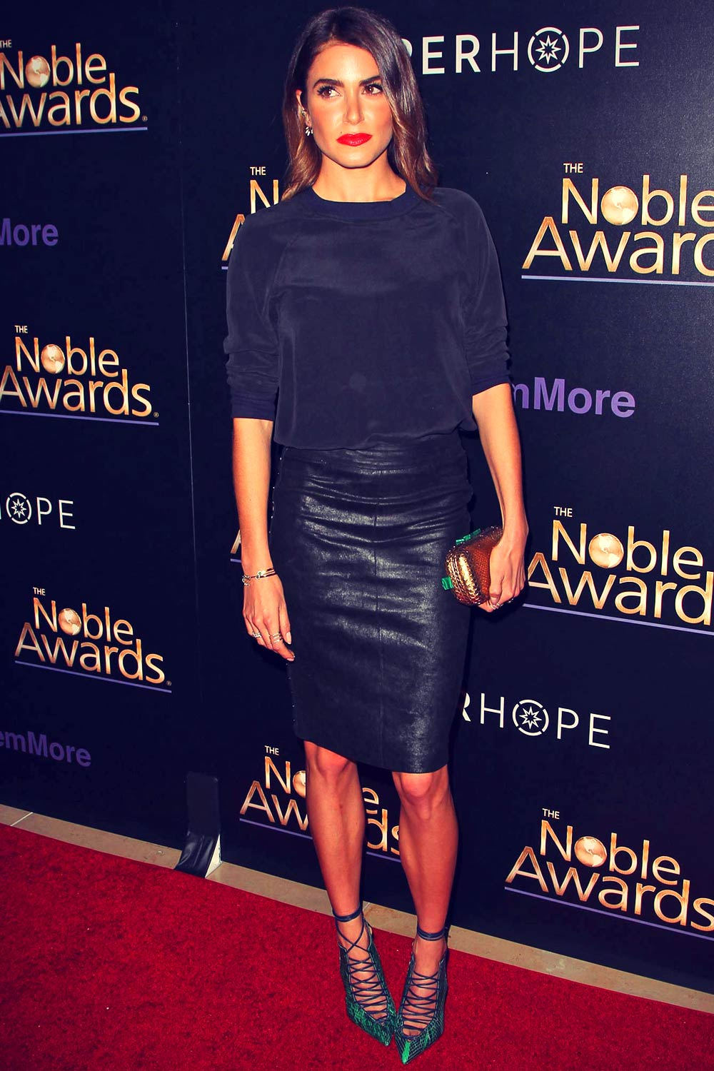 Nikki Reed attends 3rd Annual Noble Awards