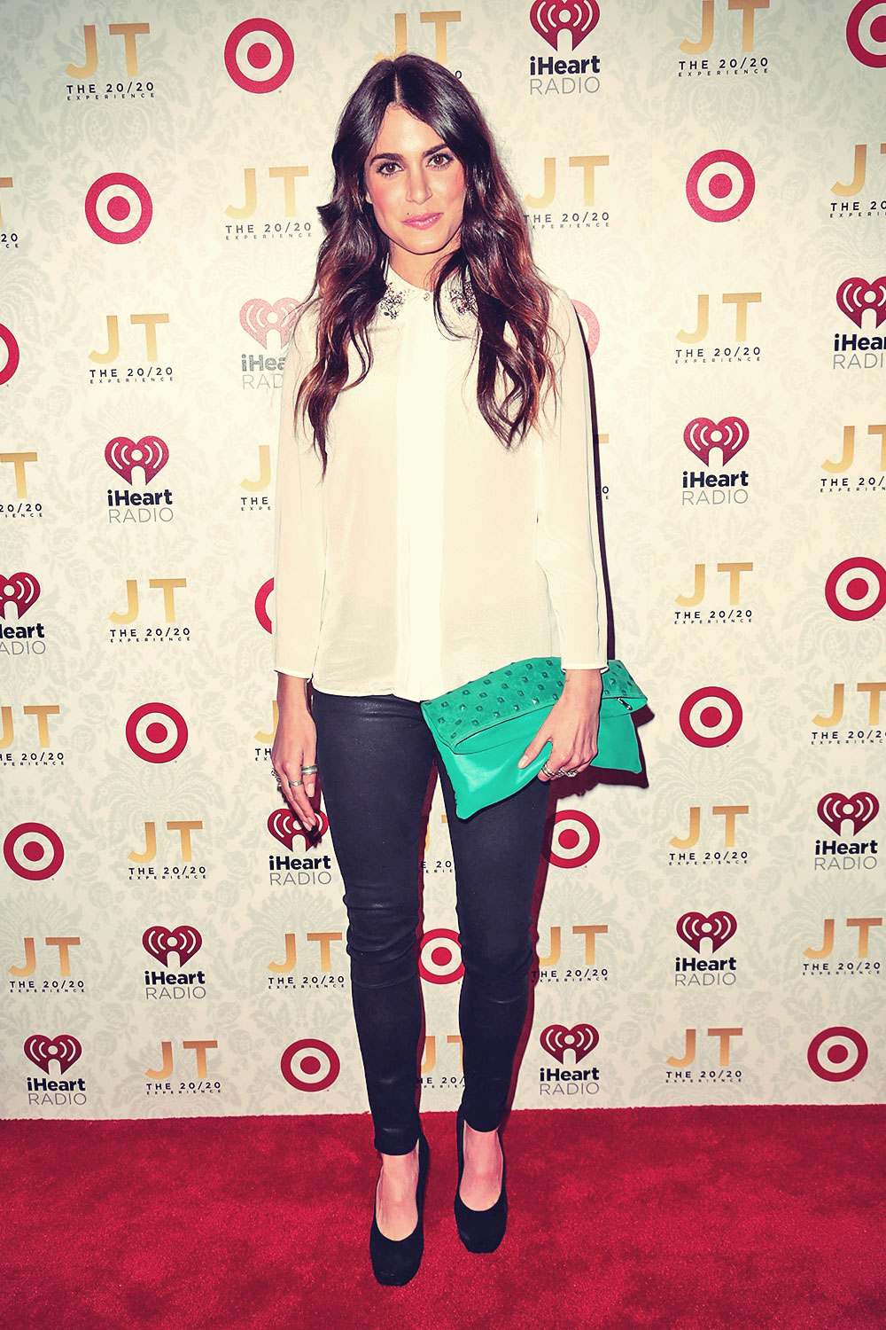 Nikki Reed attends the iHeartRadio 2020 album release party