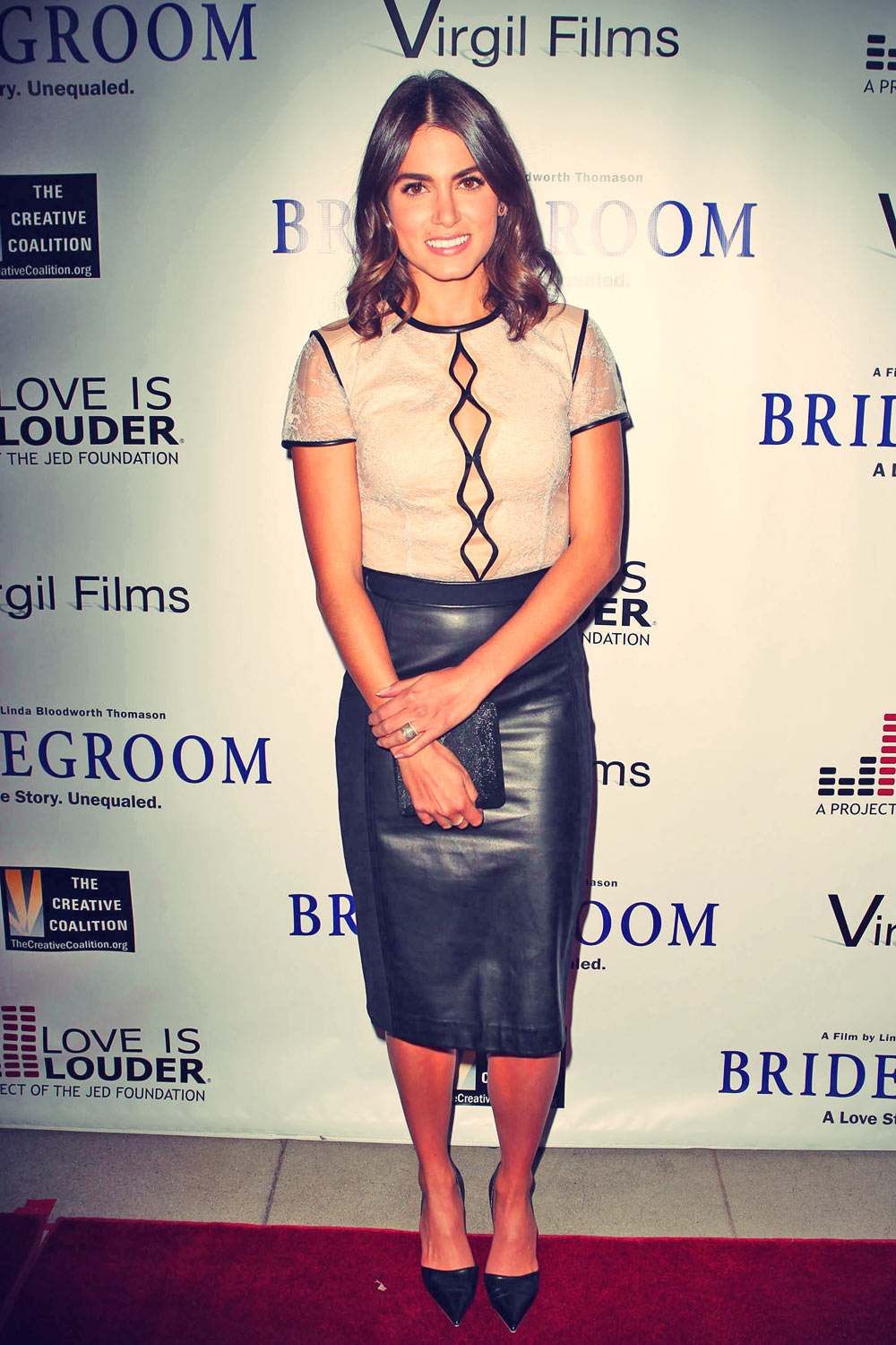 Actress Nikki Reed attends the premiere of Bridegroom held at the AMPAS Samuel Goldwyn Theater on Oc