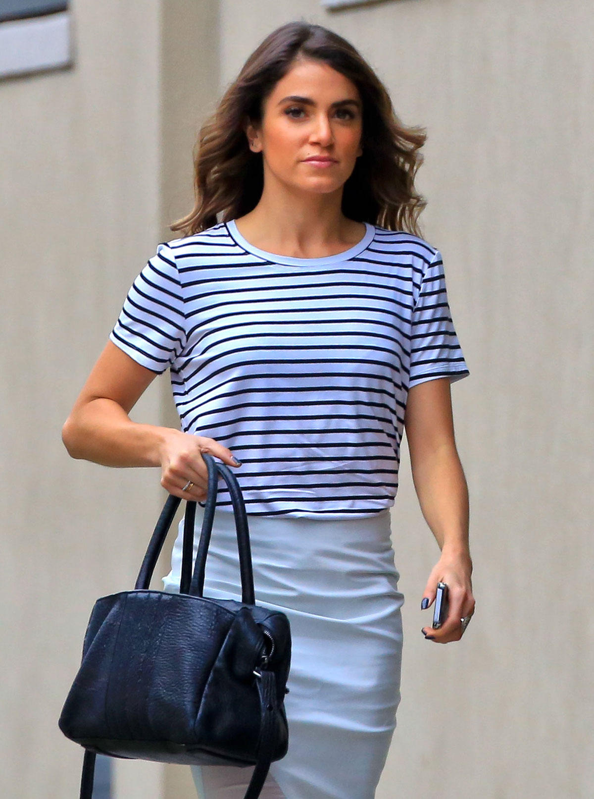 Nikki Reed out and about candids in Hollywood