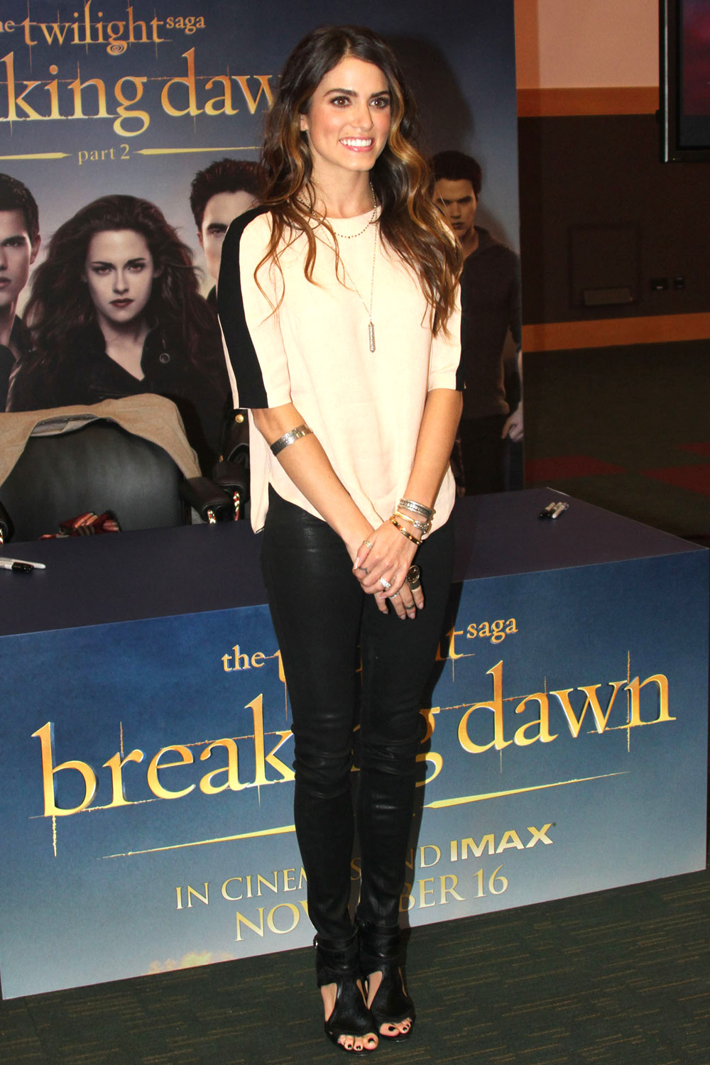 Nikki Reed photocall for The Twilight Saga: Breaking Dawn Part 2
