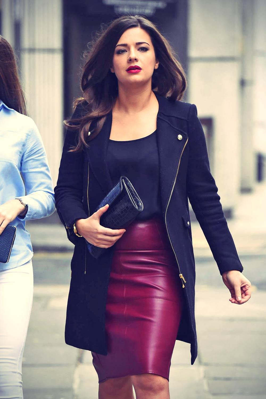 Sophie Austin leather