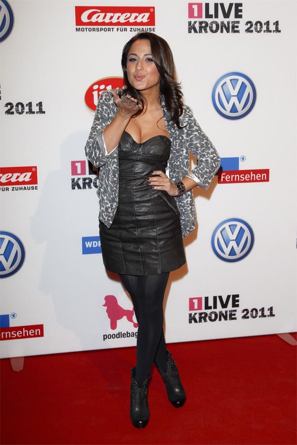 Nina Moghaddam at Live Krone Awards in Bochum