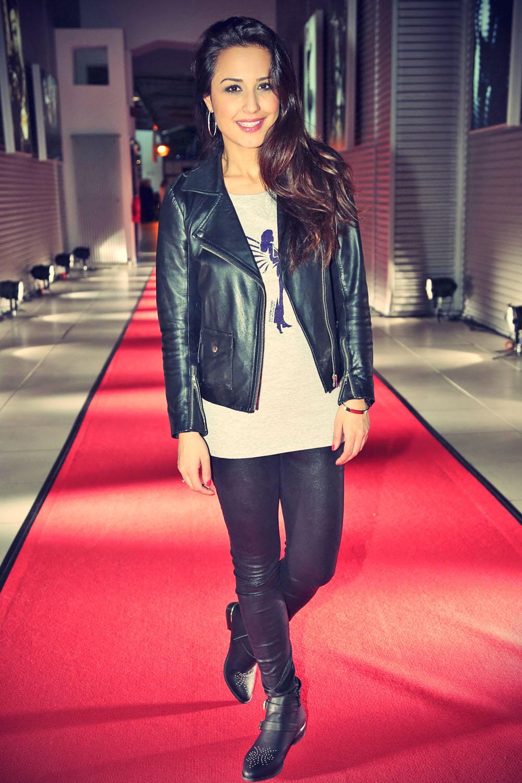 Nina Moghaddam attends the RTL Spendenmarathon