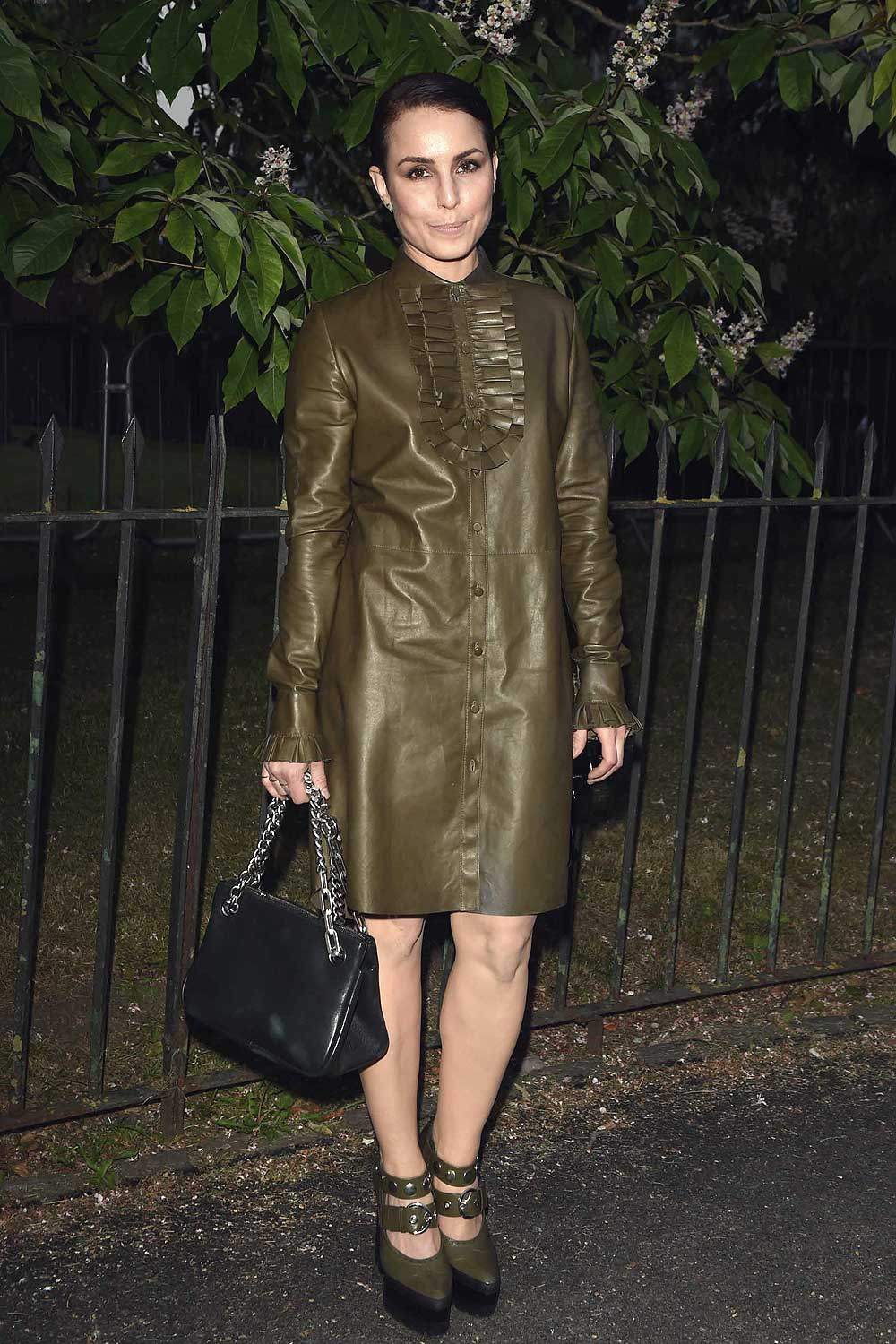 Noomi Rapace Attends The Serpentine Summer Party Leather