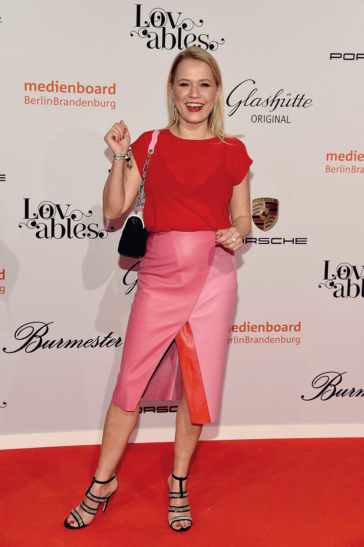 Nova Meierhenrich attends Medienboard reception at the 68th International Film Festival Berlinale