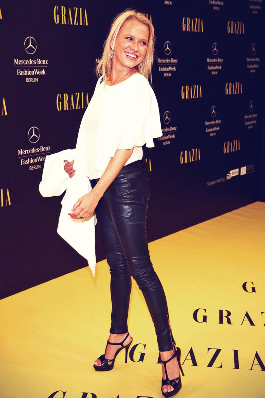 Nova Meierhenrich attends Opening Night by Grazia fashion show