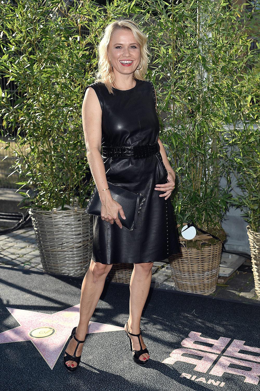 Nova Meierhenrich attends Riani Show Berliner Fashion Week
