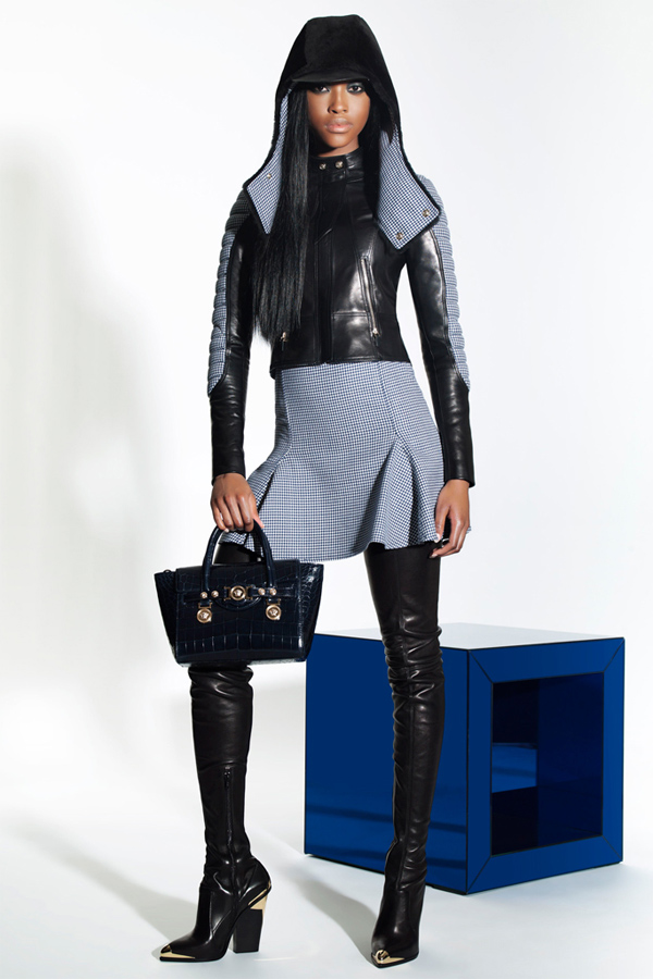 Nyasha Matonhodze for Versace