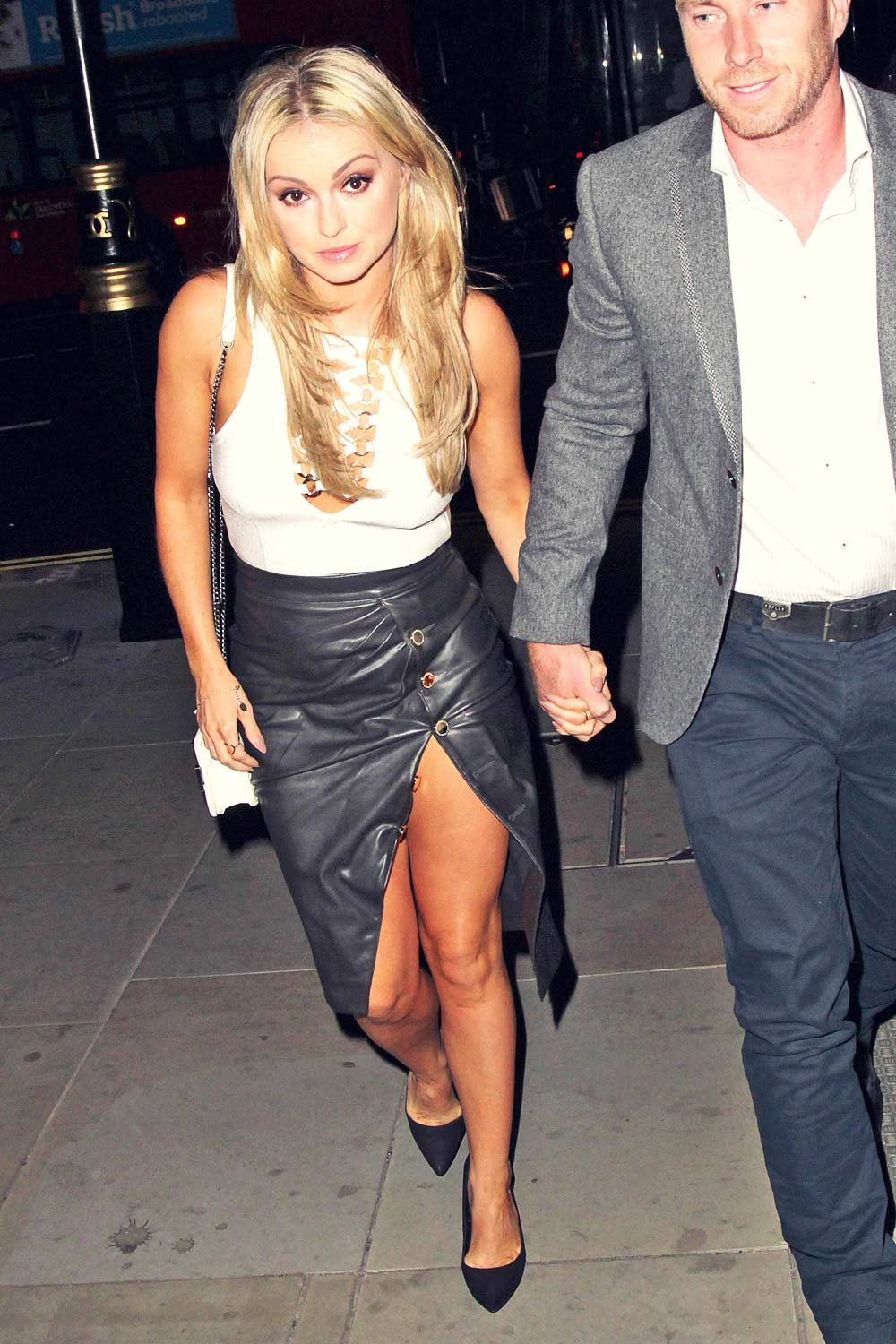 Ola Jordan out and about candids