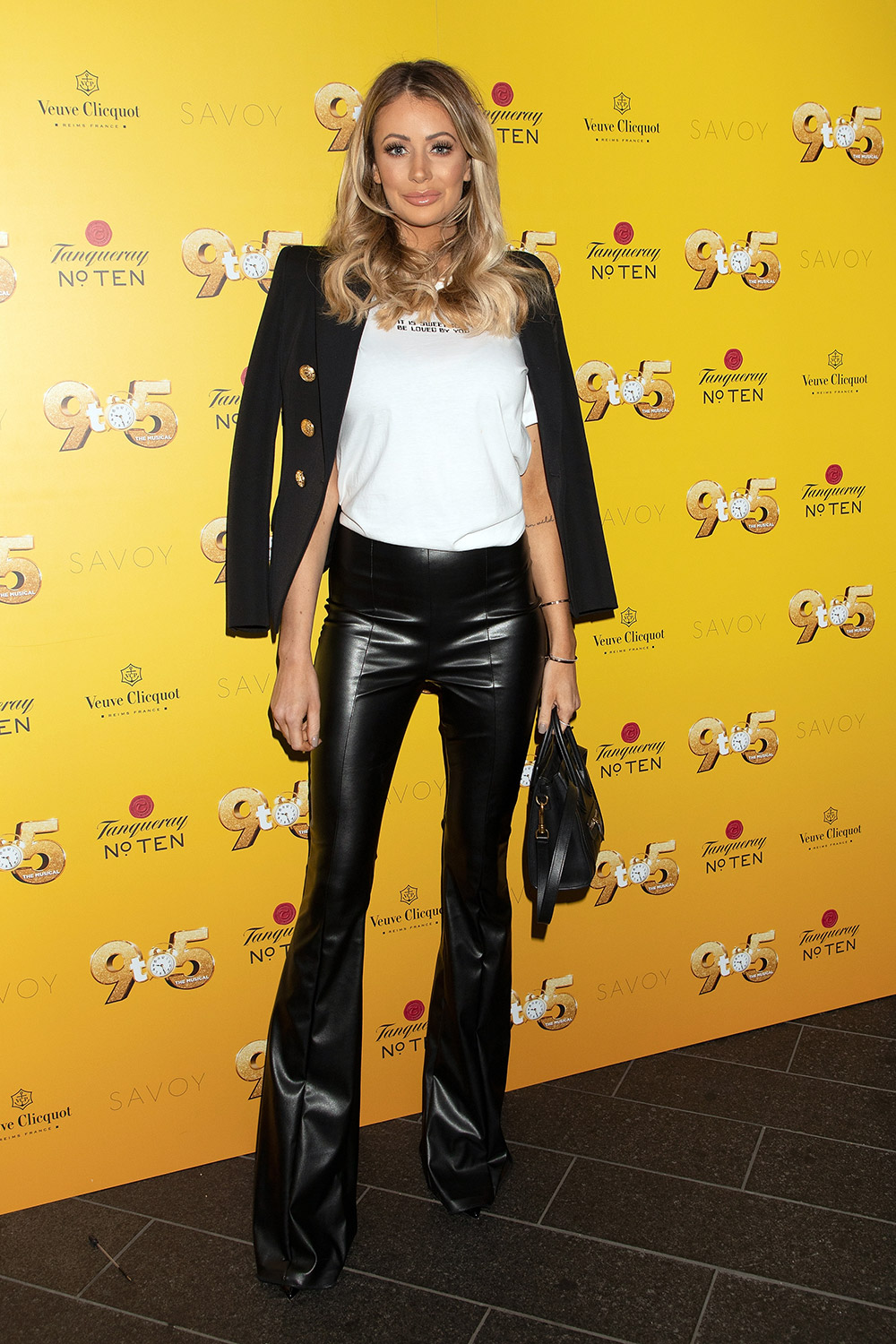 Olivia Attwood attends the '9 to 5 the Musical' Gala evening