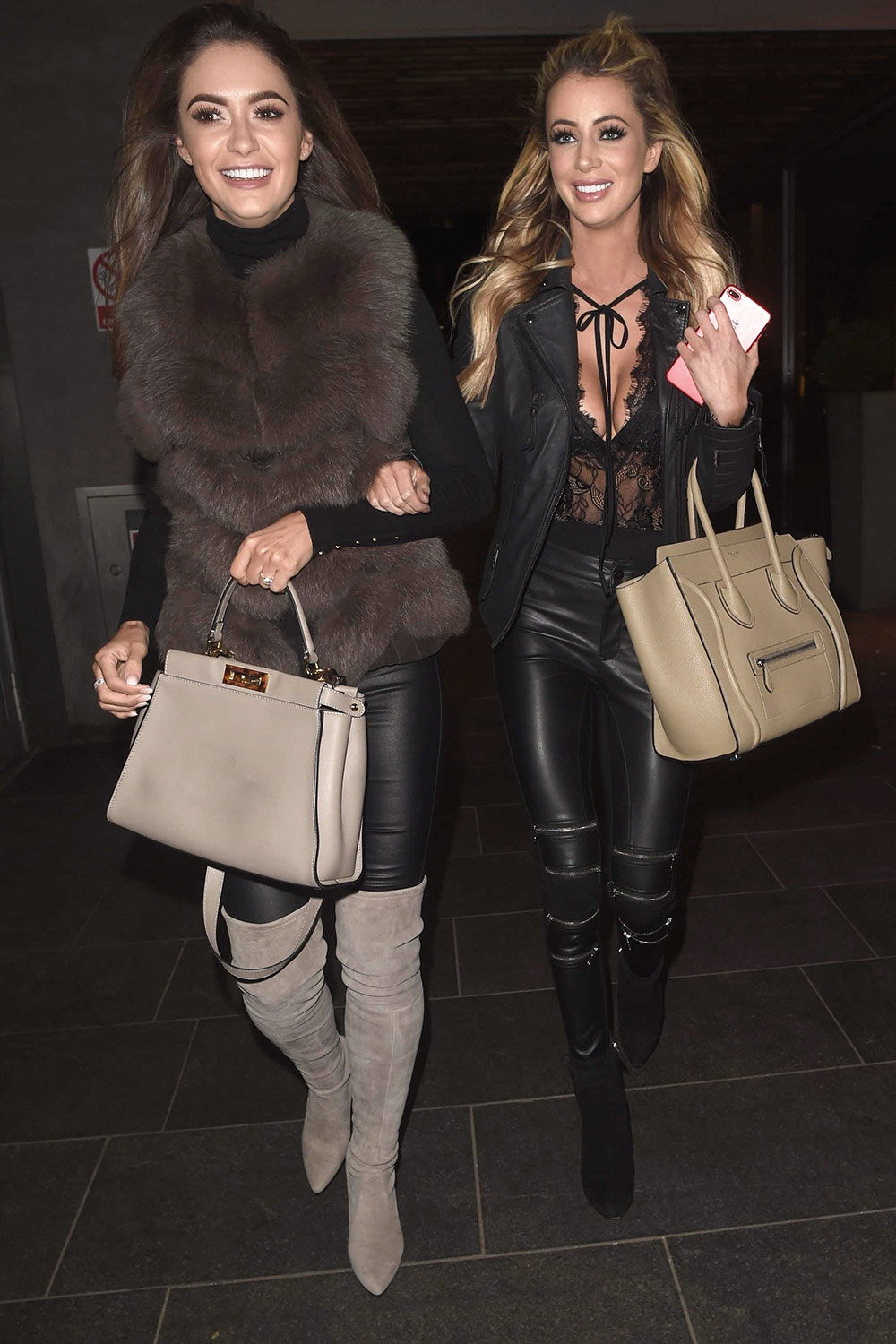 Olivia Attwood out in Manchester