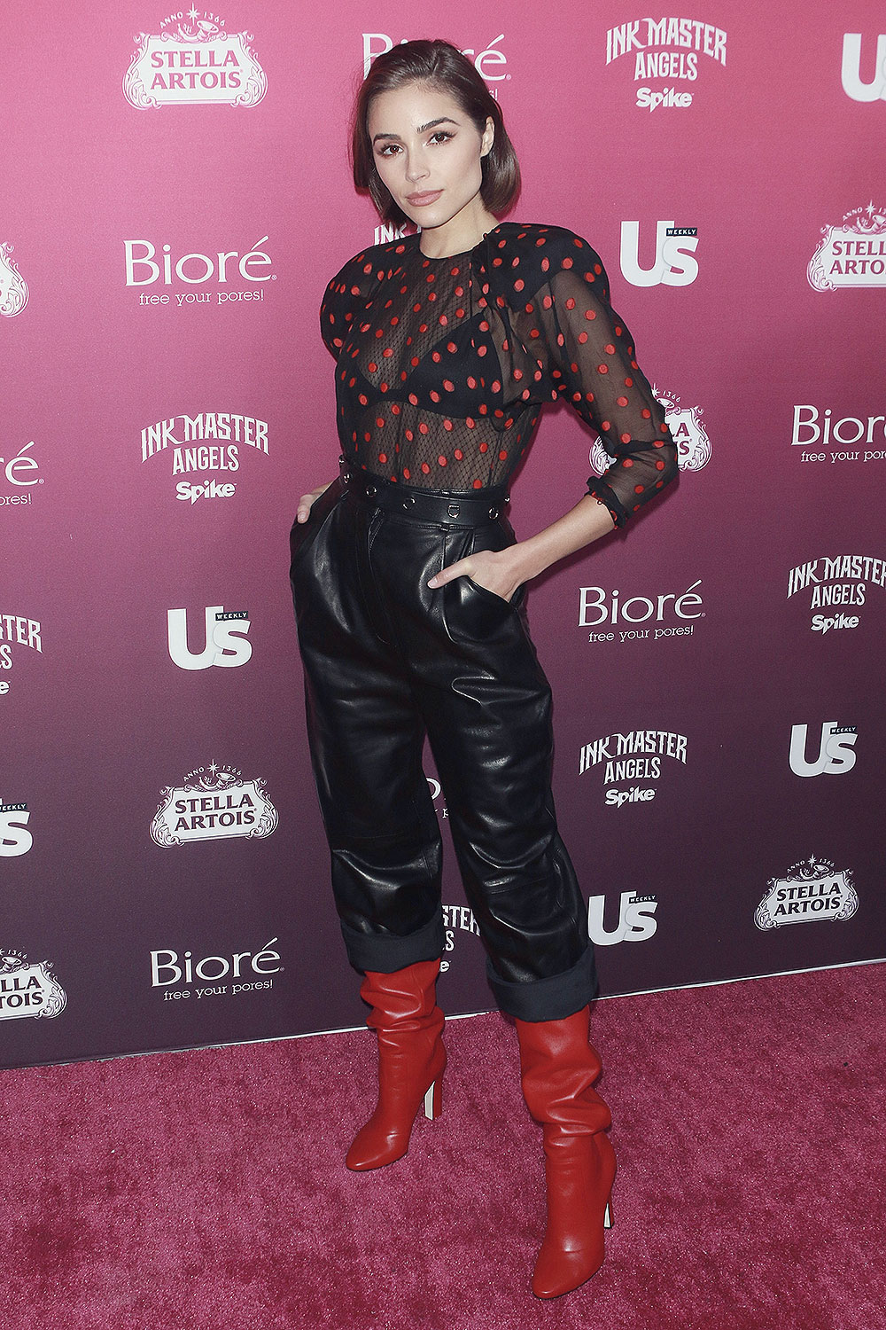 Olivia Culpo attends US Weekly's Most Stylish New Yorkers Party