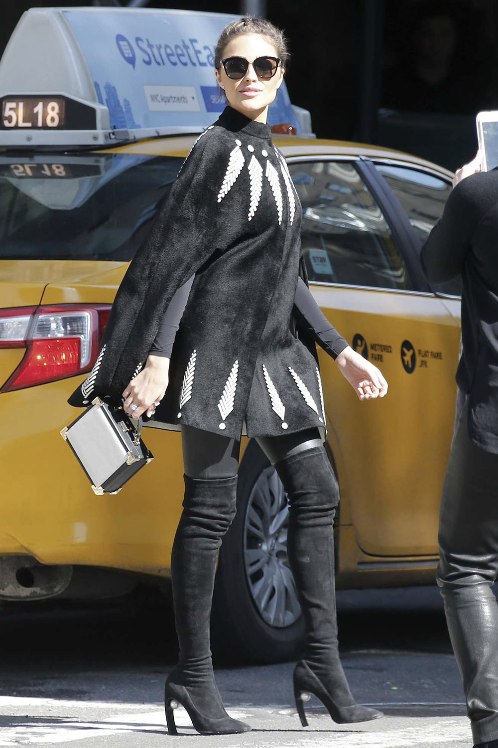 Olivia Culpo on a photoshoot in NYC