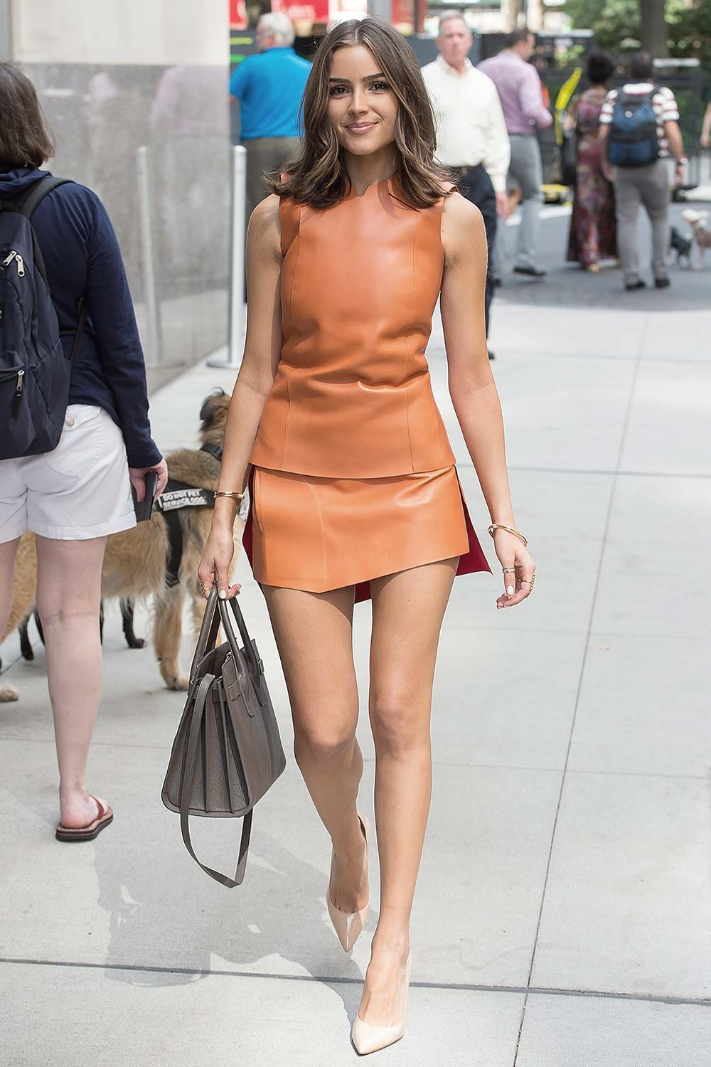 Olivia Culpo seen in the Flatiron District