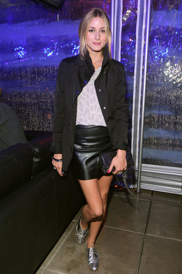 Olivia Palermo at BlackBerry Tour launch party