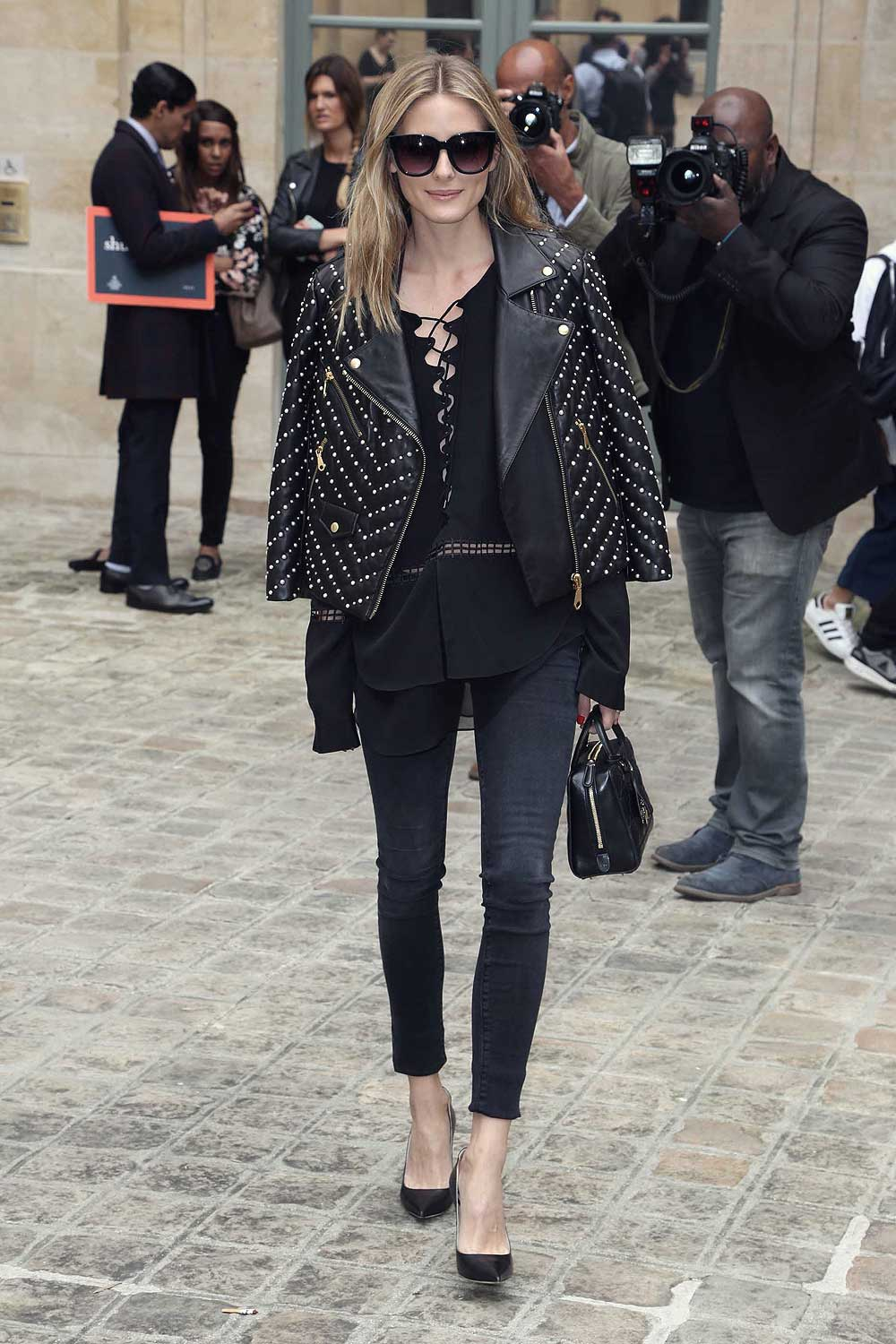 Olivia Palermo attends Alexis Mabille Haute Couture FW show